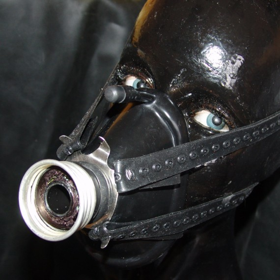 Anesthesia mask - set 5 (mask with gas mask hose connector)