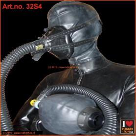 Anesthesia mask rebreathing set - set 4