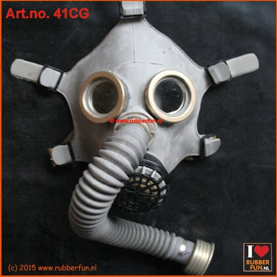 PDF-D gas mask - grey
