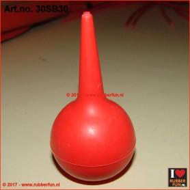 Rubber suction bulb - pipette bulb