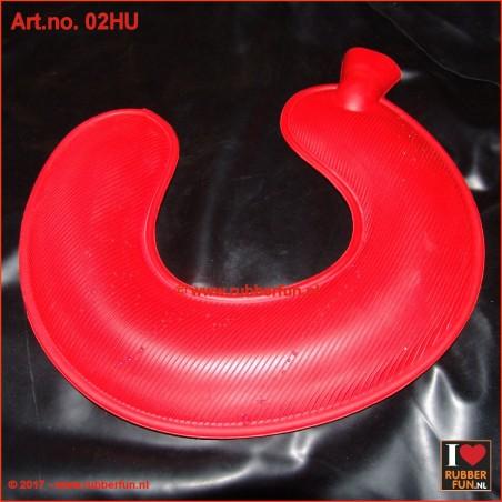 Hot water bottle - neck warmer - U-shape