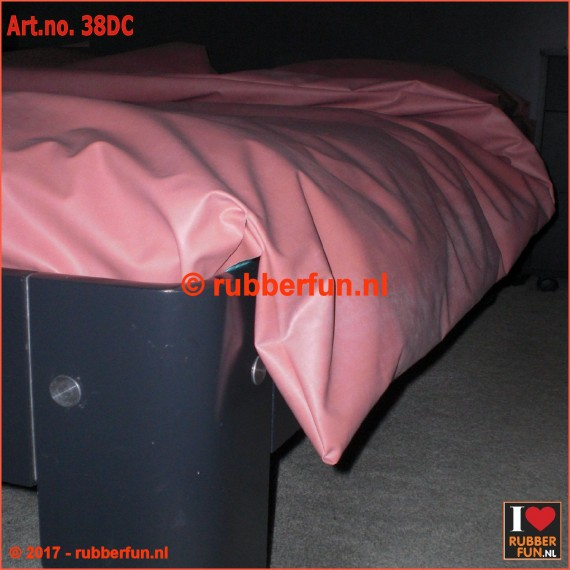 Duvet cover - clinical red