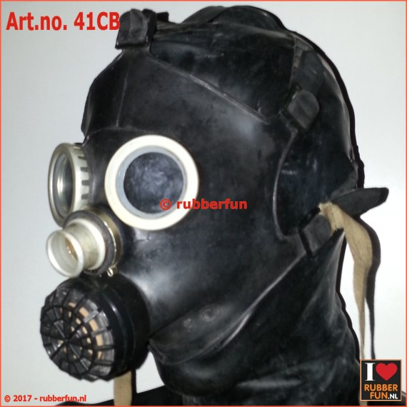 PDF-D gas mask - black