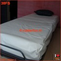 Rubber bed set 1F - fitted sheet plus pillow case