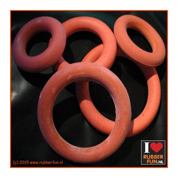 Rubber Ring - Pessarie - clinical red