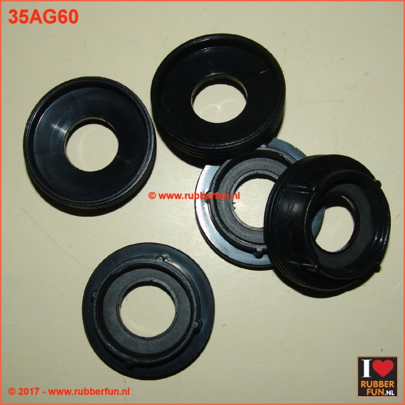 Adapter - gas mask 60 to 40 mm