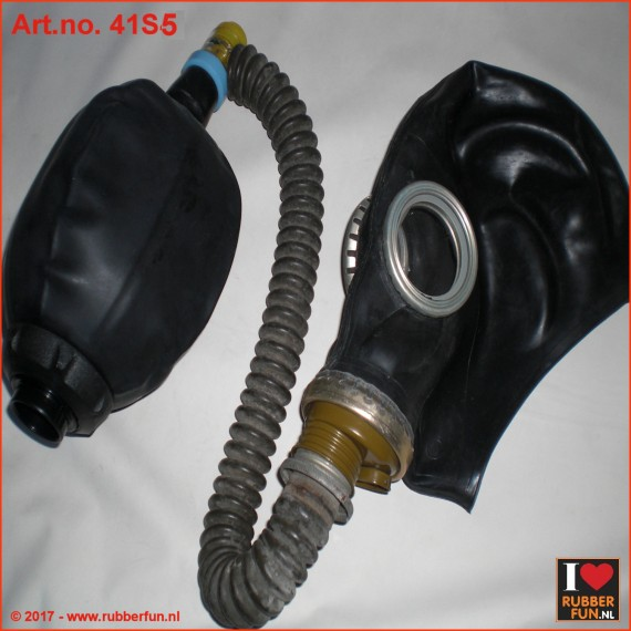GP5 gas mask rebreather set 5