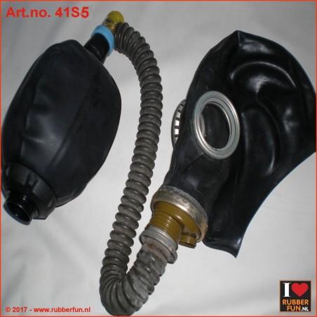 GP5 gas mask rebreather set 5