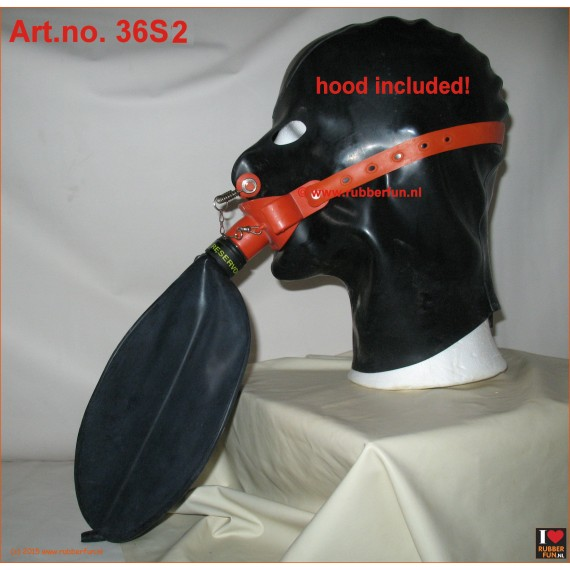 Medical gag mask rebreather set - set 2