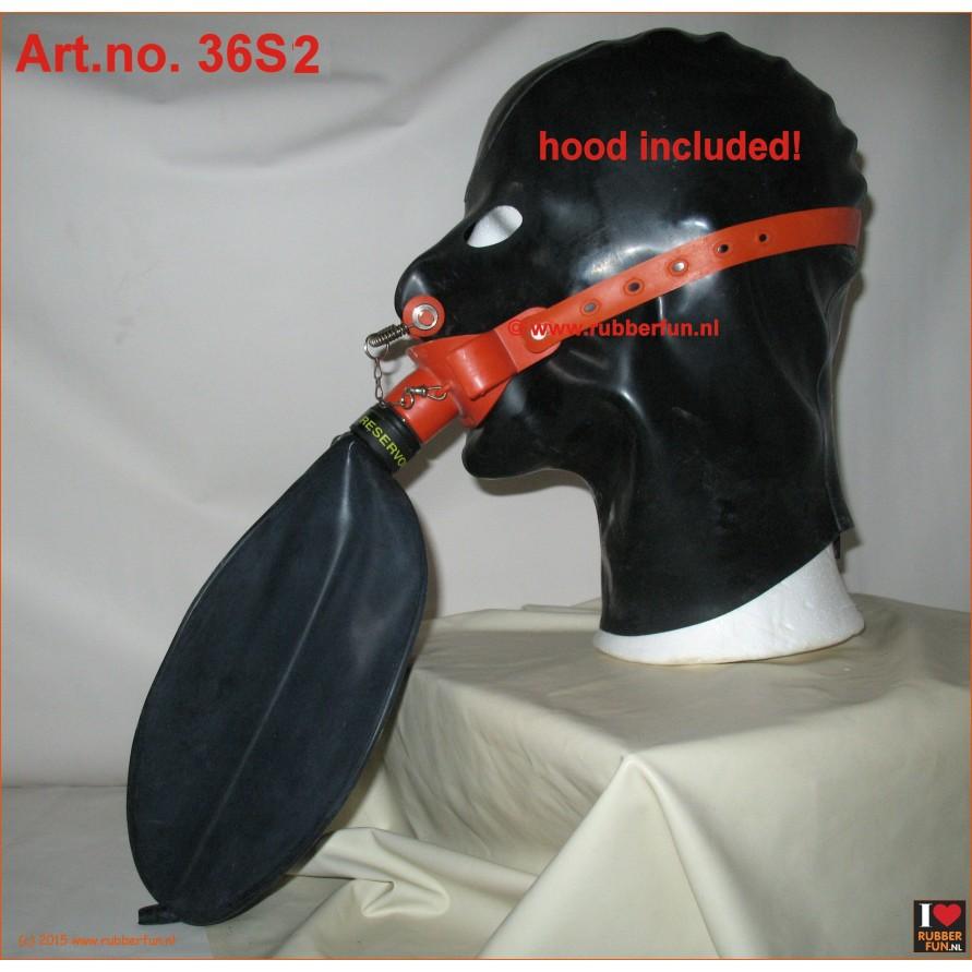 Medical gag mask rebreather set - set 2