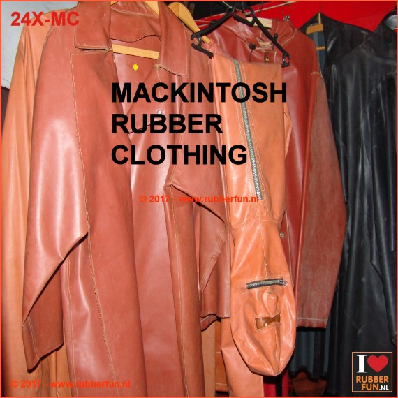 MACKINTOSH RUBBER CLOTHING SALE