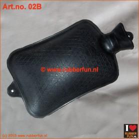 02B - Hot water bottle - black (2L & 3L)