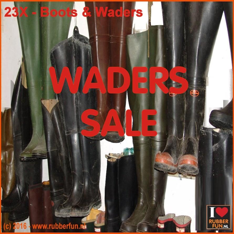WADERS SALE - hipwaders, chestwaders
