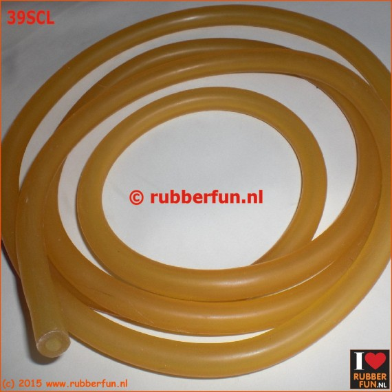 39SCL - semi clear latex tubing