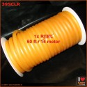 Latex rubber tube - semi clear - roll of 15 meter (50ft)