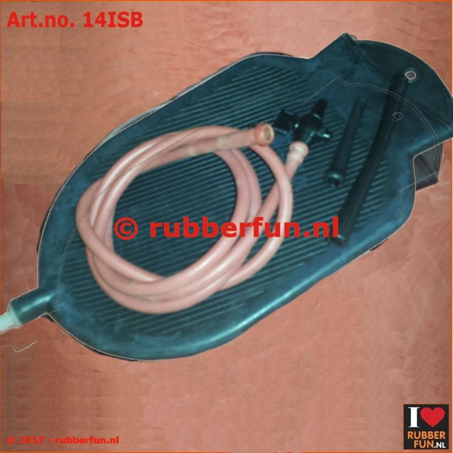14ISB - enema bag set - black