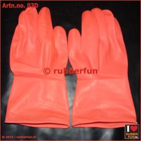 03D - latex gloves