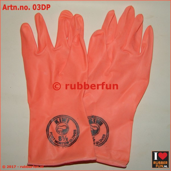 03DP - Post Mortem gloves - latex