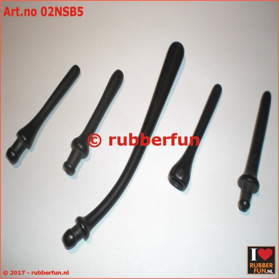 02NSB5 - Nozzle set - 5 pieces - black