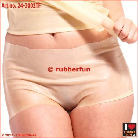 Flushing pants - female - semi-clear