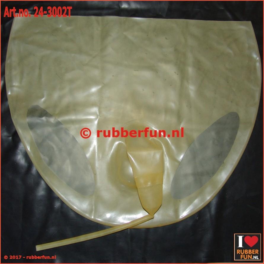24-3002TM - flushing pants with sheath - transparent