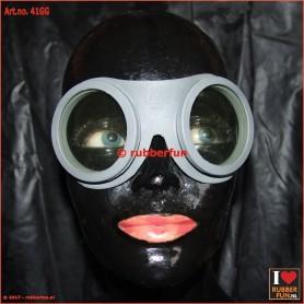 41GG - rubber goggles - grey