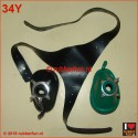 Straps for anesthesia masks - 3-tail