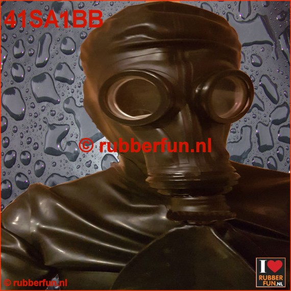 41SA1BB - GP5 gas mask rebreather set 1 - full black GP5