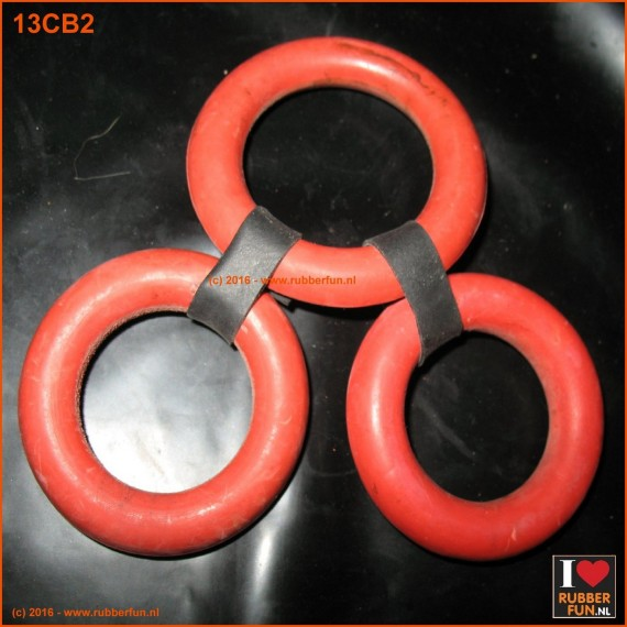 12CB2 - Cock & Ball cage - tri set