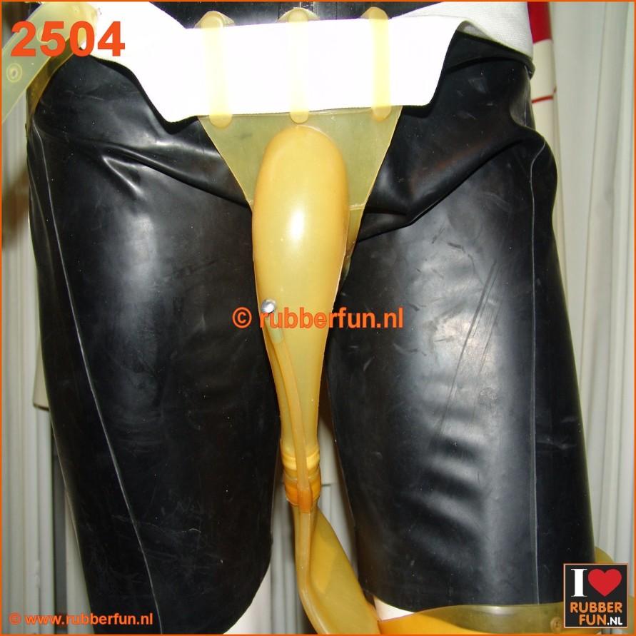 2504 - Urinal collector set with leg bag