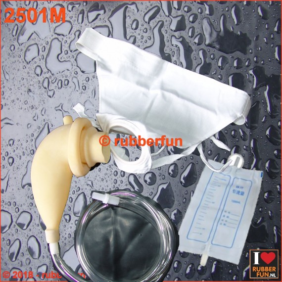 2501M - Urinal collector bag set - male