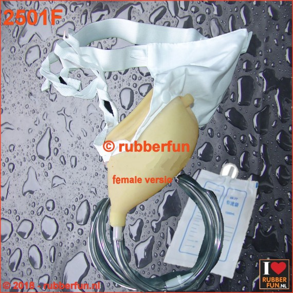 2501F - Urinal collector set - female