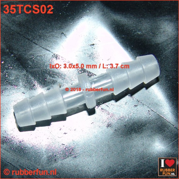 Connector - straight - 3.0 x 5.0 mm