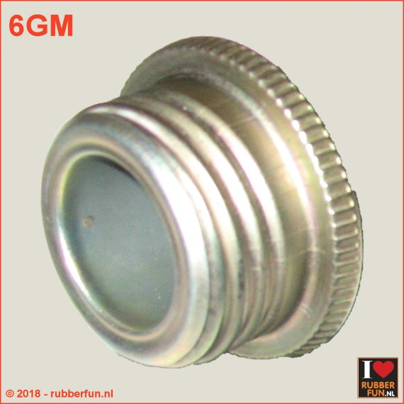 06GFM - Gas mask hose connector - male
