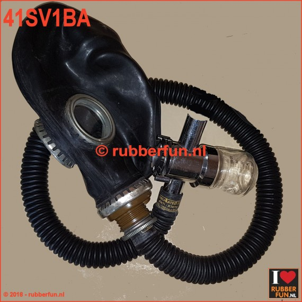 Gas mask popperizer set