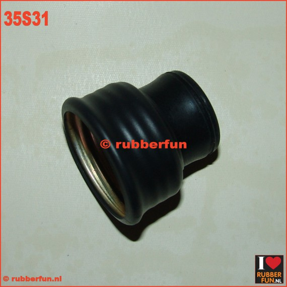 35S31 - Connector for anaesthesia 22F to gas mask F vv