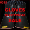 SALE - Rubber gloves - electrical