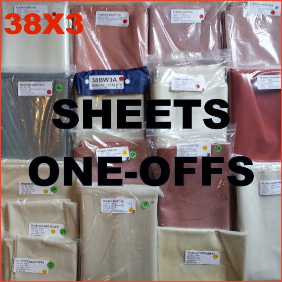 SALE - ONE OFFS - sheets & sheeting