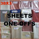 SALE - ONE OFFS - natural rubber sheets & sheeting