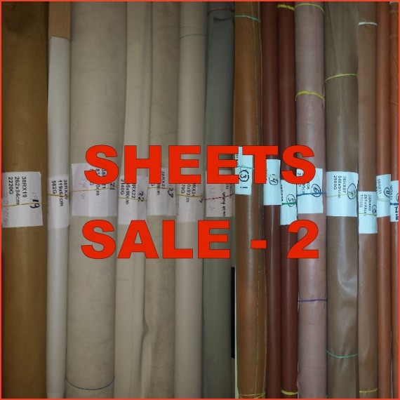 SALE - sheets & sheeting - serie 2: black, white, baby blue, baby pink, semi clear and more
