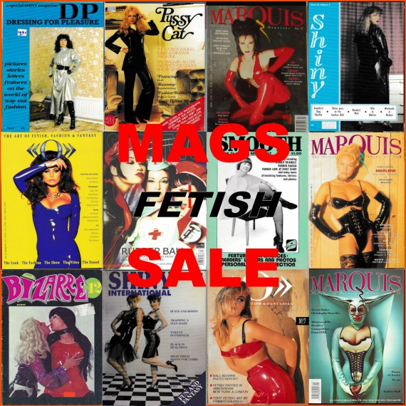 SALE - Fetish magazines - new, vintage, 2nd hand - SERIE 1B
