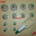 Cupping set - set of 12 cups