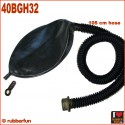 Breathplay rebreather bag with 105 cm hose