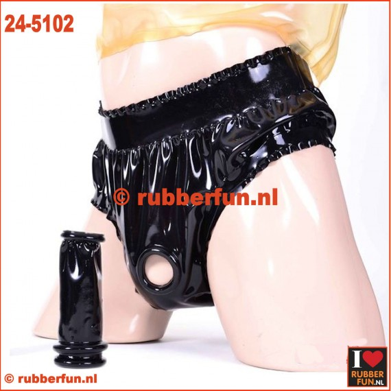 24-5102 Latex rubber penis sheath - top open