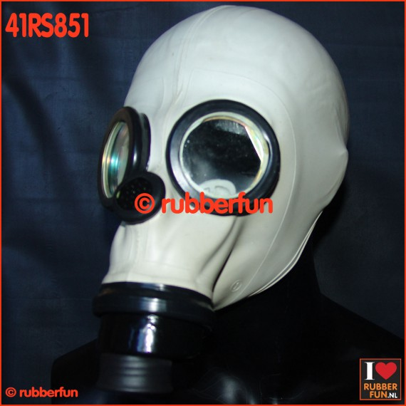 41RS851 - FASER gasmask for rebreathing, inhaler or smellbag