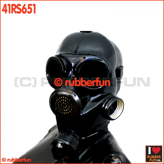 41RS861 GP7 gas mask for rebreathing, inhaler or smellbag