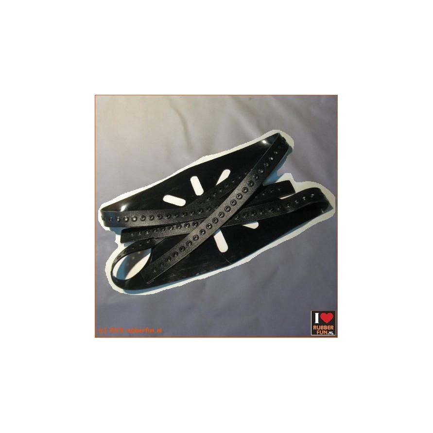 Mask binding straps