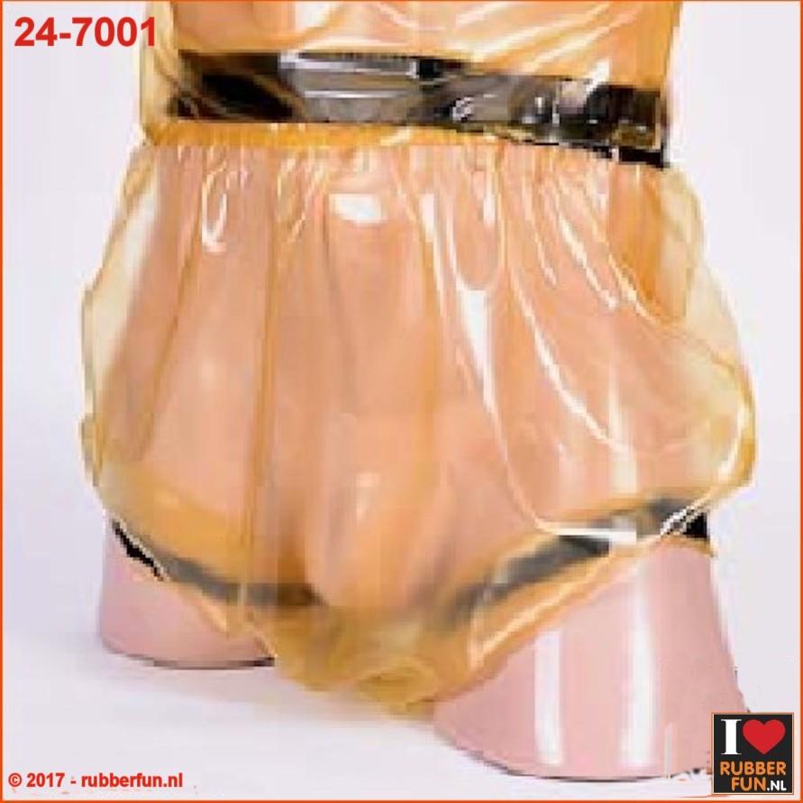 Latex diaper pants