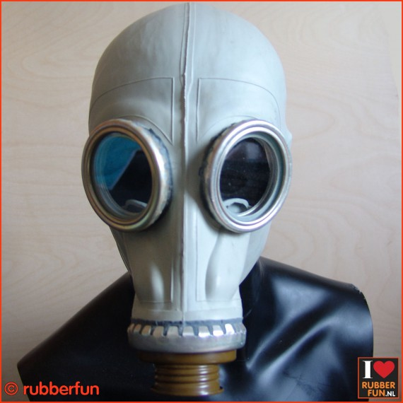 GP5 rebreather gas mask - grey - XS-XL