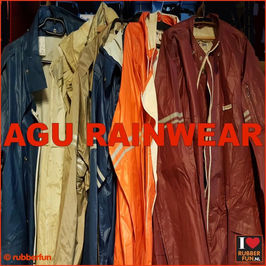 24RA - AGU raincoats